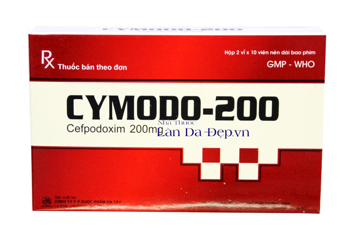 cymodo 200 kháng sinh thế hệ mới phổ rộng làn da đẹp